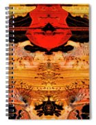 Apache Picture Jasper Spiral Notebook