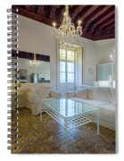 Apartment In The Heart Of Cadiz 17th Century Spiral Notebook