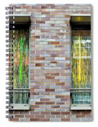 Apartment Window Spiral Notebook