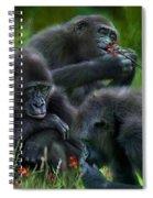 Ape Moods Spiral Notebook