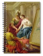 Apelles In Love With The Mistress Of Alexander Spiral Notebook