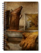 Apiary - The Beekeeper  Spiral Notebook