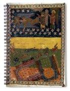 Apocalypse: Babylon Spiral Notebook