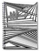 Apocalyptic Ringside View Spiral Notebook