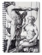 Apollo And Diana 1502 Spiral Notebook