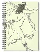 Apollo Pursuing Daphne Spiral Notebook