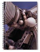 Apollo Rocket Engine Spiral Notebook