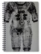 Apollo Space Suit X-ray Spiral Notebook