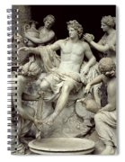Apollo Tended By The Nymphs, Intended For The Grotto Of Thetis Spiral Notebook