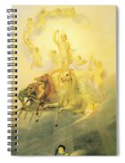 Apollo With The Hours Spiral Notebook