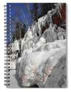 Apostle Islands Cliffs Spiral Notebook