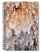Apostle Islands Icicle Cave Spiral Notebook