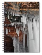 Apostle Islands Icicles Spiral Notebook