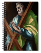 Apostle Saint Andrew Spiral Notebook