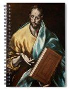 Apostle Saint James The Less Spiral Notebook