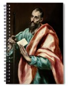Apostle Saint Paul Spiral Notebook