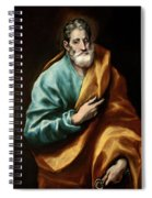 Apostle Saint Peter Spiral Notebook