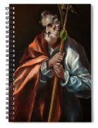 Apostle Saint Thaddeus, Jude Spiral Notebook