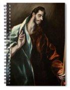 Apostle Saint Thomas Spiral Notebook