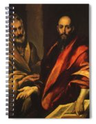 Apostles Peter And Paul 1592 Spiral Notebook