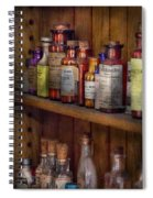 Apothecary - Inside The Medicine Cabinet  Spiral Notebook
