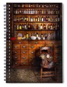 Apothecary - Just The Usual Selection Spiral Notebook