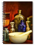 Apothecary - Tools Of The Pharmacist Spiral Notebook
