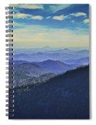 Appalachia Blue Spiral Notebook