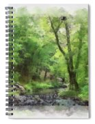 Appalachian Creek Spiral Notebook
