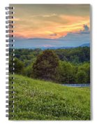 Appalachian Evening Spiral Notebook