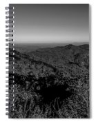 Appalachian Mountains From Mount Mitchell, The Highest Point In  Spiral Notebook