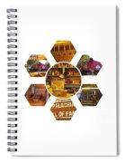 Appalachian Petal Power Spiral Notebook