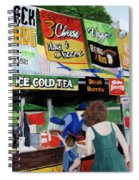 Appalachian Picnic Spiral Notebook