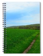 Appalachian Trail In Northern Maryland Spiral Notebook