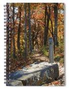 Appalachian Trail In Shenandoah National Park Spiral Notebook