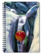 Apple Falls Spiral Notebook