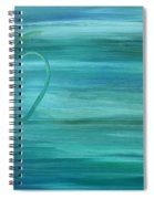 Apple On A Ledge Spiral Notebook