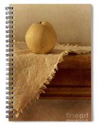 Apple Pear On A Table Spiral Notebook