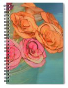 Apple Roses Spiral Notebook