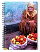 Apple Seller Spiral Notebook