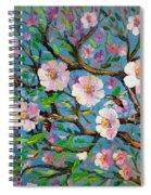 Apple Tree Blossom Spiral Notebook