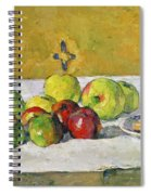 Apples And Biscuits Spiral Notebook