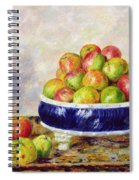 Apples In A Dish Spiral Notebook