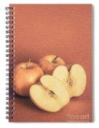 Apples In Autumn Spiral Notebook