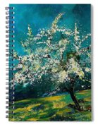Appletree In Spring Spiral Notebook