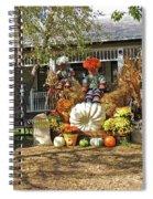 Applewood Farmhouse Grill Harvest Scene Spiral Notebook