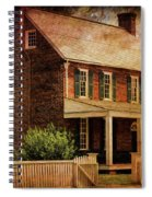Appomattox Court House By Liane Wright Spiral Notebook