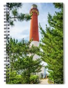 Approach To Barnegat Light Spiral Notebook