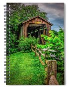 Approach To Hunseckers Mill Bridge Spiral Notebook