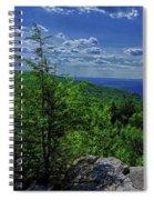 Approaching Little Gap On The Appalachian Trail In Pa Spiral Notebook